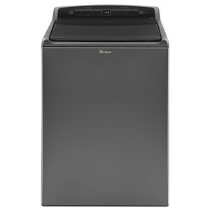 Whirlpool 5.5 Cu Ft High-Efficiency Top-Load Washer (Chrome Shadow) ENERGY STAR