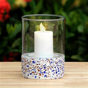 allen + roth Terrazzo Candle Holder