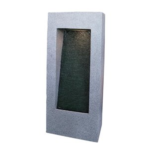 Style Selections Lighted Wall Fountain