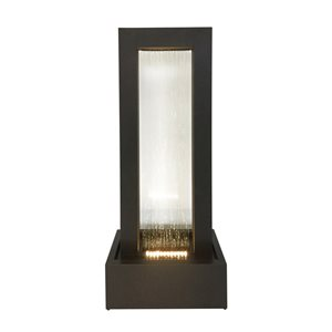 Style Selections Lighted Contemporary Fountain