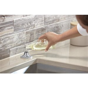 KOHLER Maxton Polished Chrome 1-Handle Pull-Out Kitchen Faucet