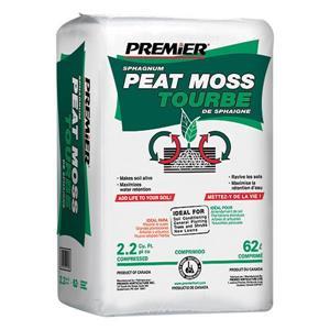 2.2 cu ft Medium Bale Sphagnum Peat Moss