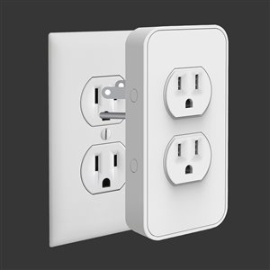 Switchmate Home Voice Activated Wire-Free Smart Outlet