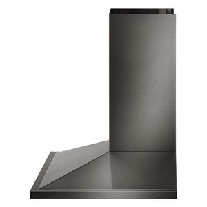 LG 30-in 600 CFM Wall-Mounted Range Hood (Black Stainless Steel)