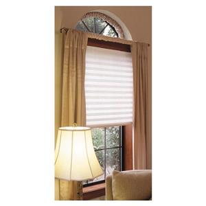 48-in W x 72-in L White Pleated Shade