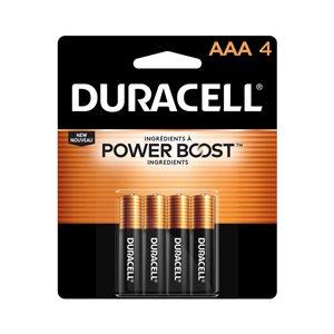 Duracell Coppertop AAA Alkaline Battery (4-Pack)