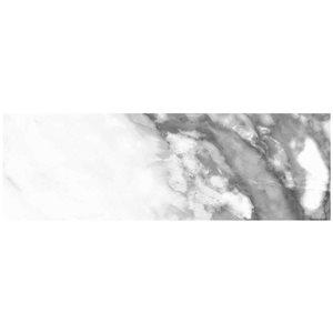 Mono Serra Group Mono Serra White Ceramic (Common: ; Actual: 12-in x 4-in)