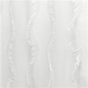 Design Decor Borden Clip White 84-in BT/RP