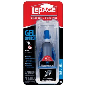LePage Gel Control Super Glue