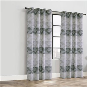 Legacy Tristar Grommet Curtain 52-in x 84-in Natural