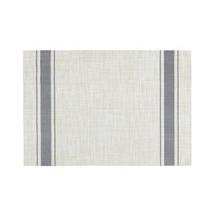Harman 13-in x 19-in Bistro Stripe Patio Table Placemat