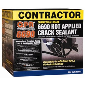 50-lb Commercial-Grade QPR 6690 Hot Applied Crack Sealant