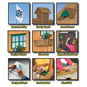 PlayStar Playset Decorative Kit