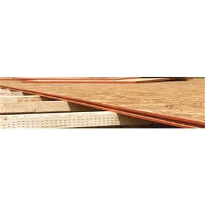 3/8-in x 4-ft x 8-ft OSB Sheathing Panel