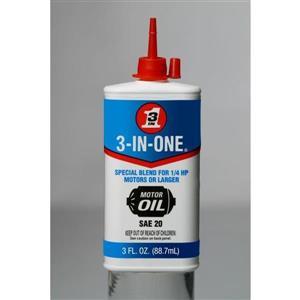 88.7mL SAE 20 Electric Motor Oil