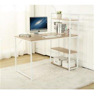 Homeworks Home Office Desk, White
