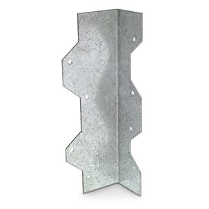 Simpson Strong-Tie 7 in. 16-Gauge Galvanized Reinforcing L Angle