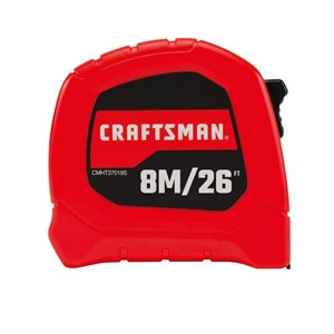 CRAFTSMAN CM Gen Our Tape 8M/26FT x 1In