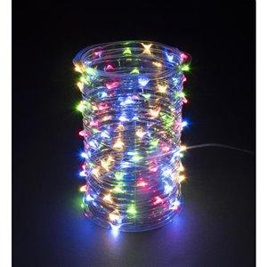 100-Count Multi-Colour LED Mini Solar Outdoor String Lights