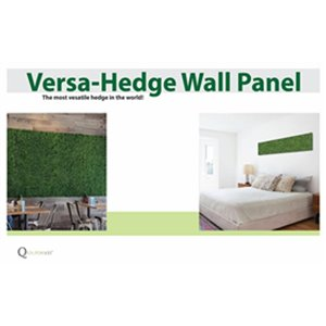 Q Solutions Versa 48-in x 12-in Smooth Artificial Grass Plastic Wall Panel