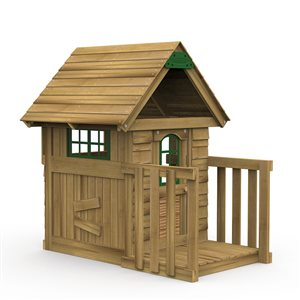 PlayStar Wood Playhouse (Full Assembly Required)