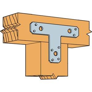 Simpson Strong-Tie 6 in. x 5 in. 14-Gauge Galvanized T Strap