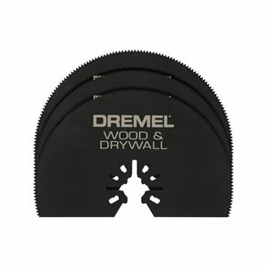 Dremel Multi-Max 3-in Wood and Drywall Saw Oscillating Tool Blade (3-Pack)
