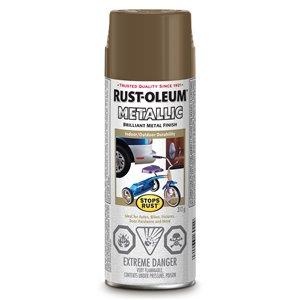 Rust-Oleum 312g Antique Brass Metallic Spray Paint
