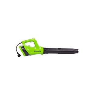 Greenworks 9 Amp 530-CFM 130 mph Light-Duty Corded Electric Leaf Blower