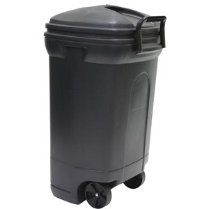 blue hawk 35-gallon black plastic commercial/residential