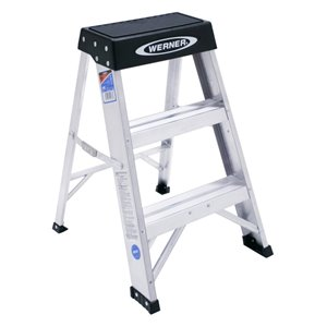 Werner 2-ft Type 1A - 300 lbs. Capacity Aluminum Step Ladder