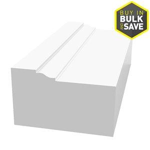 1-1/4 x 2 x 8-ft PVC Brick Moulding