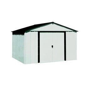 Arrow 10-ft x 8-ft Galvanized Steel Storage Shed
