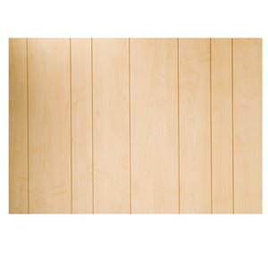 CanWelBroadLeaf 3/16-in x 4-ft x 8-ft Olympic Maple MDF Wall Panel