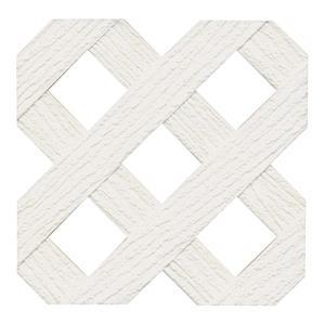 White Privacy Vinyl Lattice Lowe S Canada