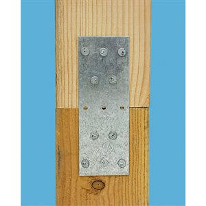 Simpson Strong-Tie TP 1-13/16 in. x 5 in. 20-Gauge Galvanized Tie Plate