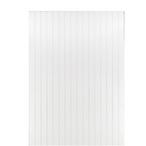 CanWelBroadLeaf 2-11/16-ft Primed MDF Double Bead Wainscot