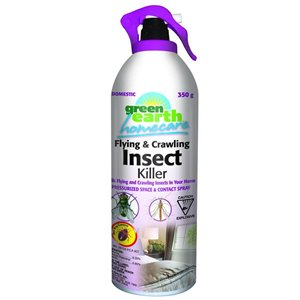 Green Earth Green Earth 12.35-oz Ready-to-Use Natural Insecticide Aerosol Spray