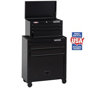 CRAFTSMAN 26.5-in W x 44.25-in H 5-Drawer Steel Tool Cabinet