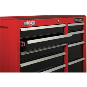 CRAFTSMAN 27-in W x 37.5-in H - 5 Drawer Steel Tool Cabinet (Red)
