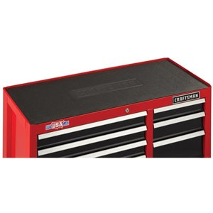CRAFTSMAN 52-in W x 37.5-in H - 10 Drawer Steel Tool Cabinet (Red)